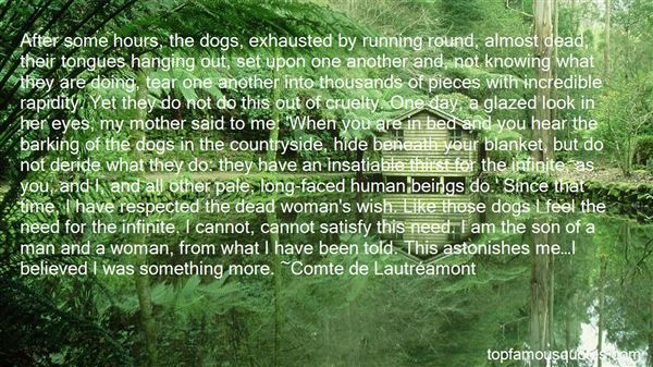 Quotes About Dogs Tongues