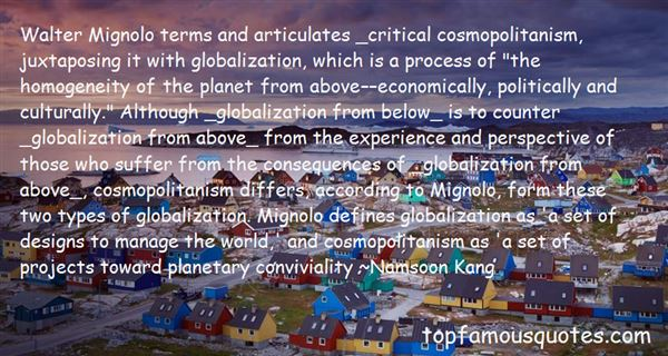 Quotes About Economic Globalization