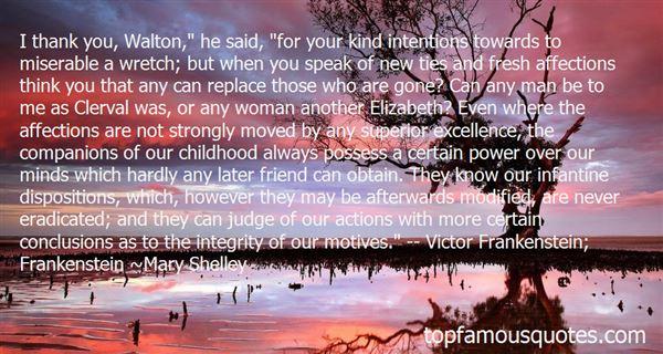Quotes About Elizabeth Frankenstein