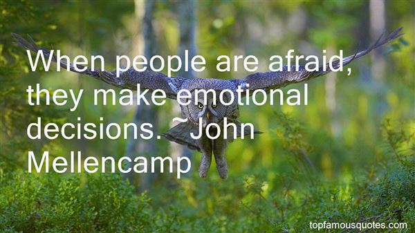 Quotes About Emotional Decisions
