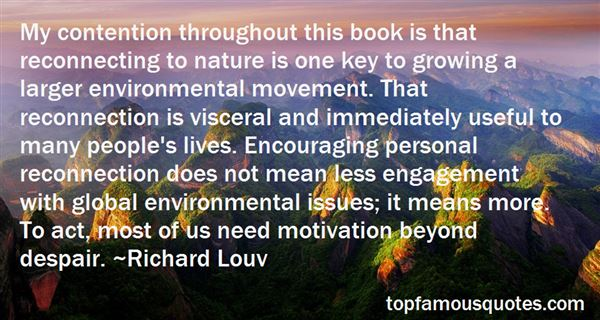 Quotes About Environmental Issues