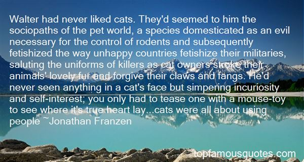 Quotes About Evil Cats