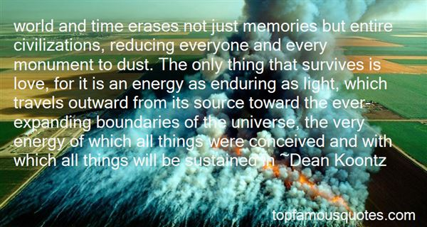 Quotes About Expanding Universe