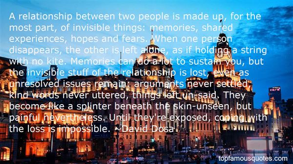 Quotes About Experiences And Memories