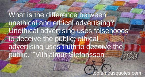 Quotes About False Advertising
