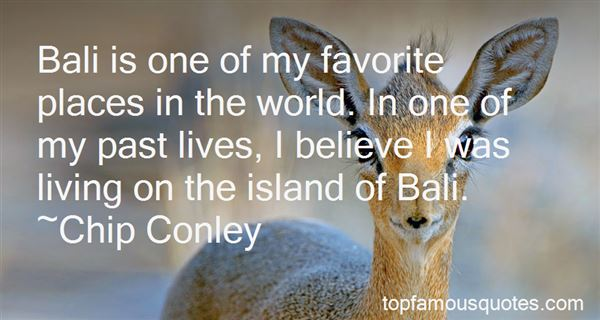 Quotes About Favorite Place In The World
