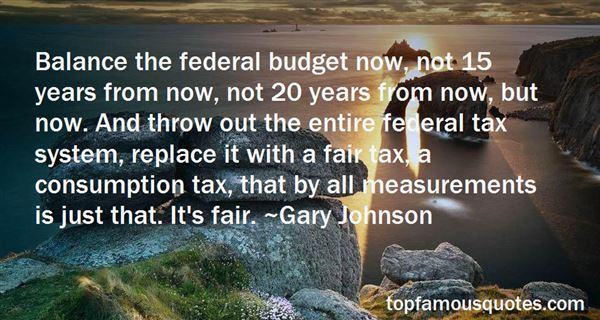 Quotes About Federal Budget