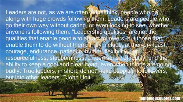 Quotes About Following Bad Leaders
