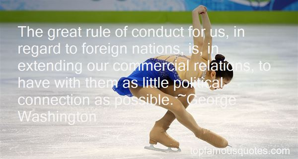 Quotes About Foreign Relations