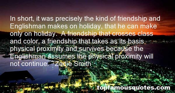 Quotes About Friendship English