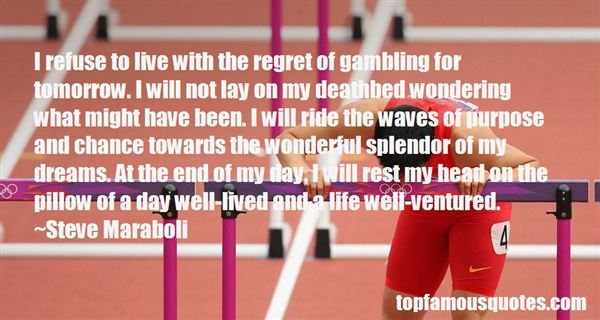 Quotes About Gambling And Life