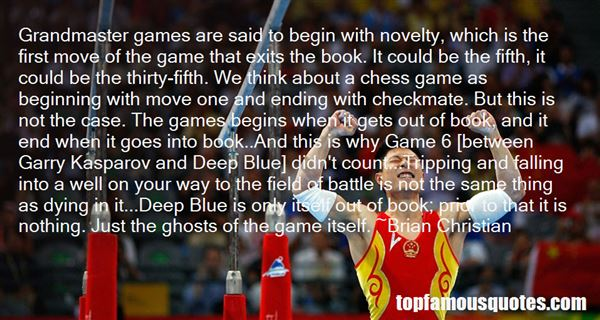 Quotes About Garry Kasparov