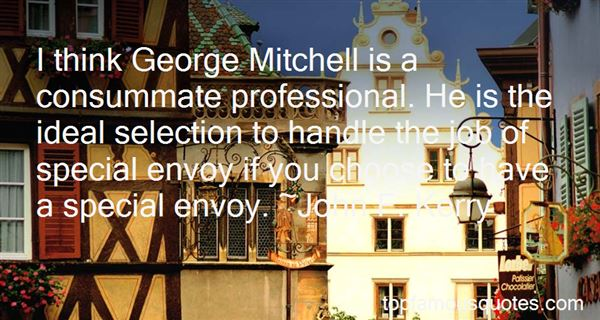 Quotes About George Mitchell