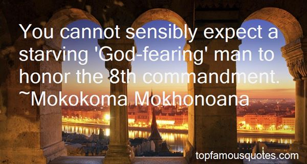 Quotes About God Fearing Man