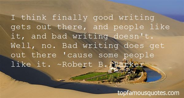 Quotes About Good And Bad Writing