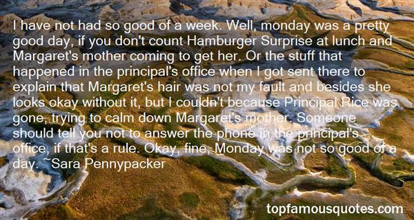 Quotes About Good Principal