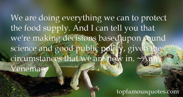 Quotes About Good Public Policy