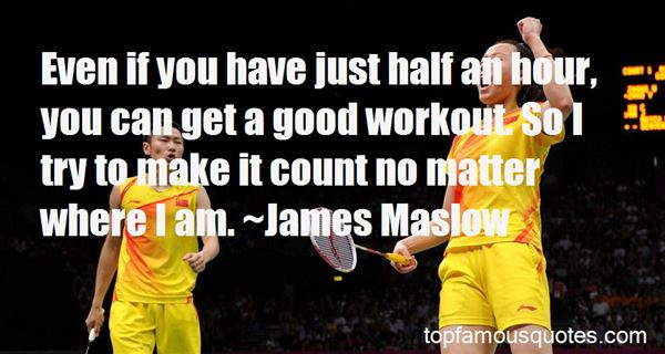 Quotes About Good Workout