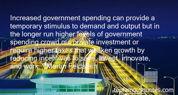 Quotes About Government Incentives