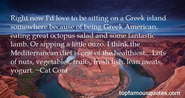 Quotes About Greek Salad