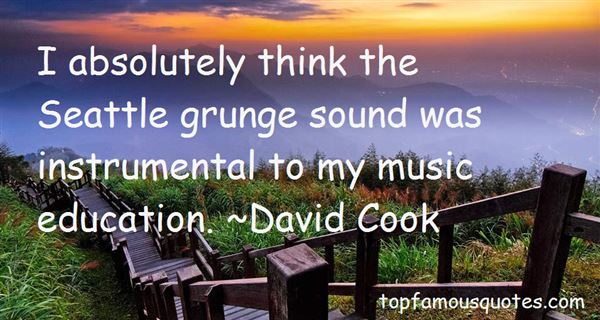 Quotes About Grunge Music