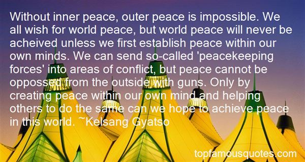 Quotes About Guns And Peace