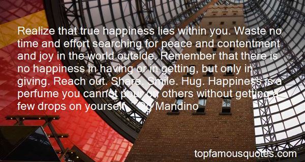 Quotes About Happiness And Contentment