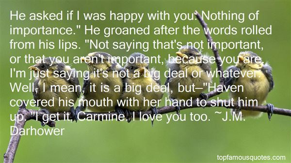 Quotes About Happy With You