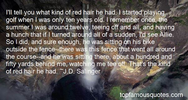 Quotes About Having Red Hair