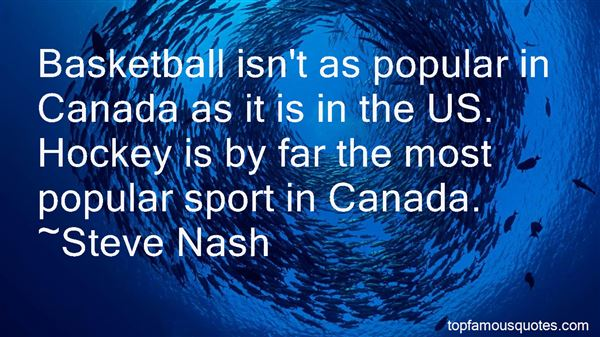 Quotes About Hockey In Canada