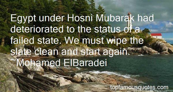 Quotes About Hosni Mubarak