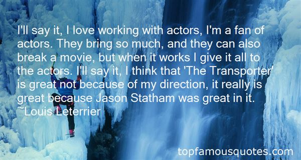 Quotes About Jason Statham