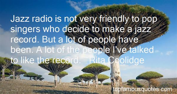 Quotes About Jazz Singers