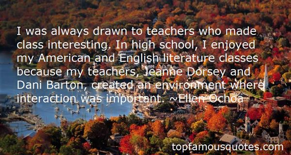 Quotes About Literature Teachers