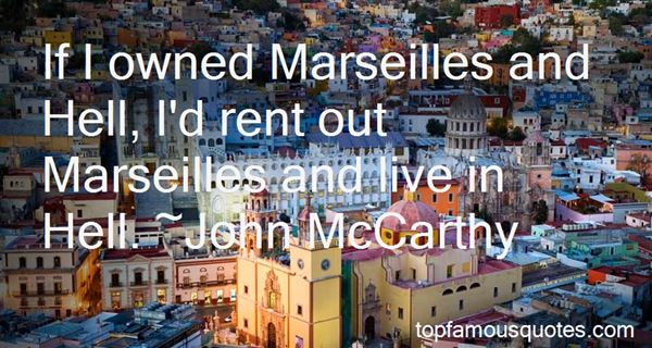 Quotes About Marseille