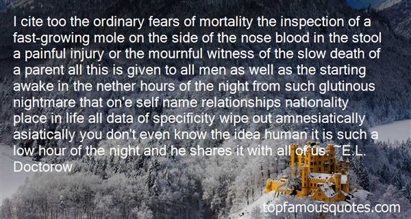 Quotes About Mortality Of Man