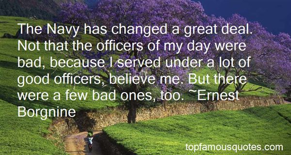 Quotes About Navy Officers