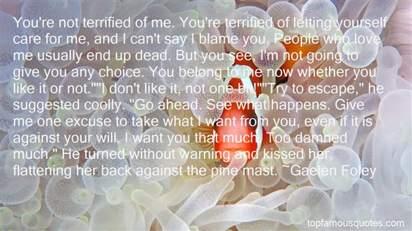 Quotes About Not Letting Love In
