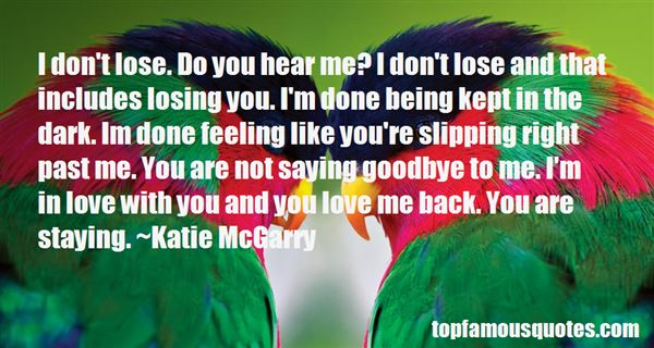 Quotes About Not Saying Goodbye