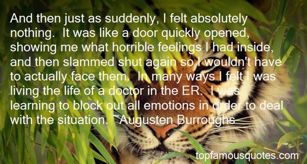 Quotes About Not Showing Emotions