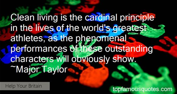 Quotes About Outstanding Character