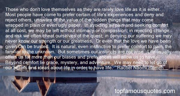 Quotes About Pain And Love And Life