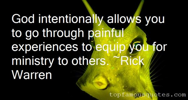 Quotes About Painful Experiences