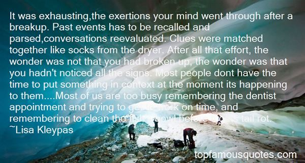 Quotes About Past Events
