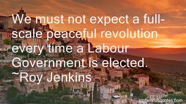 Quotes About Peaceful Revolution