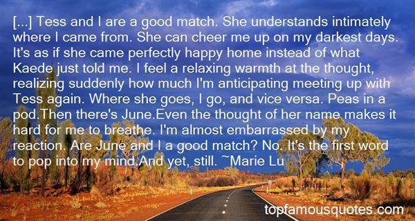 Quotes About Perfect Match