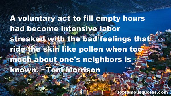 Quotes About Pollen