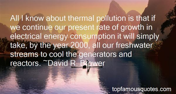 Quotes About Pollution In The Water