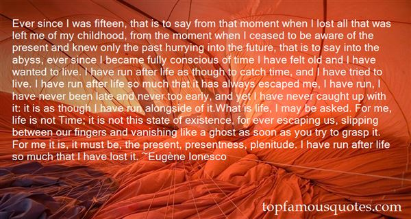 Quotes About Present Life