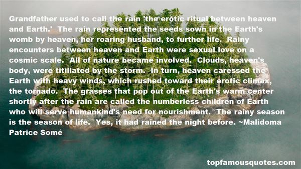 Quotes About Rainy Clouds